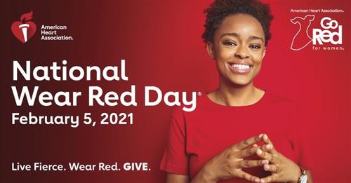 National Wear Red Day, February 5, 2021
